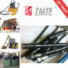 Mangueira hidráulica de aço de borracha flexível do SAE J517 2sc da trança do fio