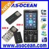 Telefone móvel da tevê da faixa do quadrilátero (K820)