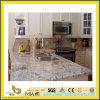 Pearl Polished White Flower Granite Countertop per Kitchen/Bathroom (YQC)