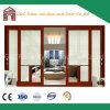 раздвижная дверь 2.0mm толщиная Alminum с электрическими шторками от Foshan