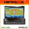 7 '' één-DIN Auto DVD met Bluetooth Rds, GPS bouwen-In.Tmc & Facultatief dvb-t (aiu-118G)