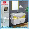 Cheap Bathroom PVC moderno feito sob encomenda de armazenamento Vanity Sink espelho Cabinet (KDS006)