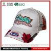 Tampão de competência branco de Basebll da promoção com bordado e impressão