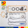 Jogo da gaxeta da revisão das peças de motor Diesel 10PE1 da máquina escavadora