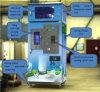Distributori automatici freschi automatici del latte con la funzione delle monete