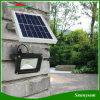 12 LED 옥외 점화 태양 에너지 4000mAh 재충전 전지 태양 야드 빛 벽 램프 빛