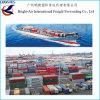 Overzees van de Vrachtvervoerder van de Logistiek van China Verschepend Schip van China aan Auckland, Nieuw Zeeland