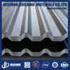 亜鉛上塗を施してある波形の屋根のシート・メタル