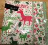 Serviette de papier de Noël pour des tailles