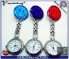 100% reloj caliente directo de la enfermera de la sonrisa del silicón de la aduana de la venta 2016 de la fábrica Yxl-275, reloj médico de la broche del bolsillo de reloj del doctor Watch Clock/Fob