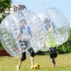 Bola de parachoques de Zorb de la carrocería transparente para el campo de fútbol
