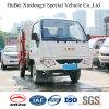 2cbm JAC 유로 5 휘발유 가솔린 배럴 거는 쓰레기 수송 트럭