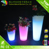 Waterproof outdoor Colorful LED Plastic Flower Pot