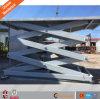 Type superbe de longeron de fil de qualité levage hydraulique de cargaison avec la plate-forme de levage de ciseaux de la CE
