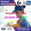 Citrate Bp2009 Bp2014 USP32 FCC-V de potassium de pente de Pharma