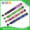 Kundenspezifischer gesponnener Wristband mit justierbarer Faltenbildung für Aktivität