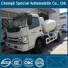 4X2 de uitgevoerde Vrachtwagen van de Trommel van de Mixer Concreter van 4cbm