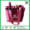 Venda por atacado não tecida recicl do saco do vinho