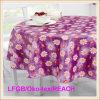 Tablecloth do PVC com classe não tecida do revestimento protetor LFGB