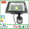PIR Motion Sensor IP65 10-50W COB LED Flood Light