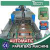 Máquina de múltiples funciones de alta velocidad de la bolsa de papel con el sistema servo