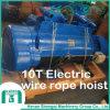 Alzamiento eléctrico modelo de la cuerda de alambre CD-Md 2016 10 toneladas
