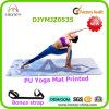 Циновка йоги PU нового прибытия кожаный, напечатанная таможня, супер Anti-Slip циновка йоги