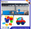 Horizontale kundenspezifische Qualitäts-Plastikspielzeug-Spritzen-Maschine