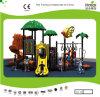 Kaiqi Media-ha graduato Playground secondo la misura di tema del Children della capanna sugli'alberi di Forest con Slide (KQ20094A)