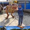 Traje realista de tamaño natural del dinosaurio