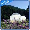 De transparante Opblaasbare Tent van de Bel met 2 Tunnels/de Opblaasbare Tent van de Bel