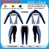 Honorapparel Polyester 100% Biking Long Sleeve Jerseys pour Uninsex