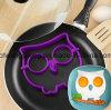 De grappige Milieuvriendelijke Uil Gevormde Vorm van de Omelet van het Ei van het Silicone Rubber
