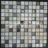 Glasmischungs-Marmor-Stein-Mosaik-Fliese für Hauptdekoration