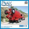 336HP 9cbm Shacman Concrete Mixer Truck voor Algerije