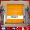 Puertas industriales resistentes de la persiana enrrollable del PVC del plástico (YQRD050)