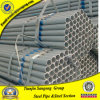 Pipes BS1387 en acier galvanisées plongées chaudes liquides