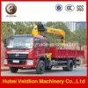 SaleのFoton 4X2 6.3 Ton Truck Mounted Crane