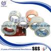 Cinta cristalina adhesiva del embalaje del fabricante de acrílico a base de agua