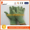 Зеленое Bamboo волокно с латексом Gloves-Dnl315