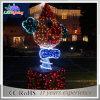 Do Natal impermeável do diodo emissor de luz de Commerial luz ao ar livre colorida da decoração