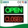 Signe ouvert-fermé d'étalage de DEL