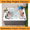 Grande vasca da bagno di massaggio per la vostra famiglia divertente