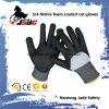 ранг покрынная пеной отрезока нитрила 13G 3/4 упорная безопасности перчатки уровня 3 и 5