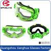 Óculos de proteção elevados flexíveis do motocross da motocicleta do estilo do esporte da visão do frame HD do impato TPU