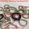 Acciaio inossidabile 304/316 di anello a D del metallo saldato di Palted del nichel