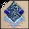 Cuadrado Pocket impreso seda de Paisley del pañuelo del 100% para los hombres