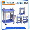 Medizinische Laufkatze für Krankenhaus/Luxuxplastiklaufkatze (GT-Q101)