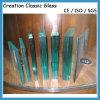 el corte claro del vidrio Tempered de 3m m clasificó el vidrio Tempered