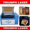 휴대용 작은 Laser 절단기 소형 아크릴/플레스틱 필름/가죽/직물 /Wood 기술 CNC Laser 절단기 조판공